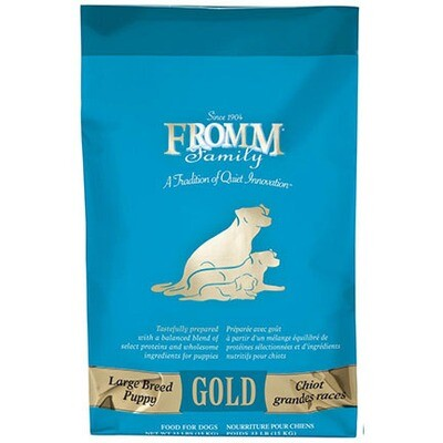 Fromm Puppy Gold Lg Breed 33#