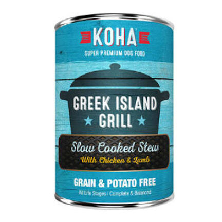 Koha Dog Greek Island Grill 12oz