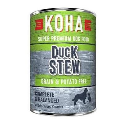 Koha Dog Duck Stew 12oz