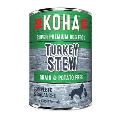 Koha Dog Turkey Stew 12oz