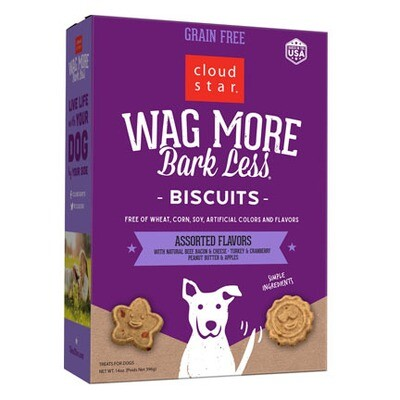 Wag More GF Assorted Treats 14oz