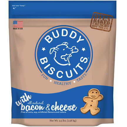 Buddy Biscuit Bacon/Cheese 3.5#