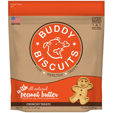 Buddy Biscuit Peanut Butter 3.5#