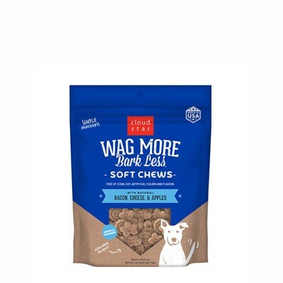 Wag More Soft Bacon Cheese Apple 6oz