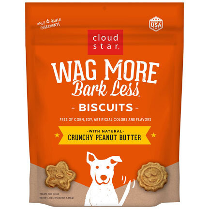 Wag More Peanut Butter 3#