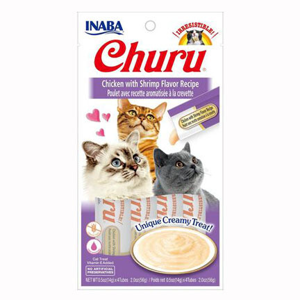 Inaba Churu Purees Chicken/Shrimp