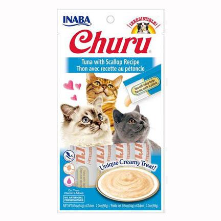 Inaba Churu Purees Tuna/Scallop