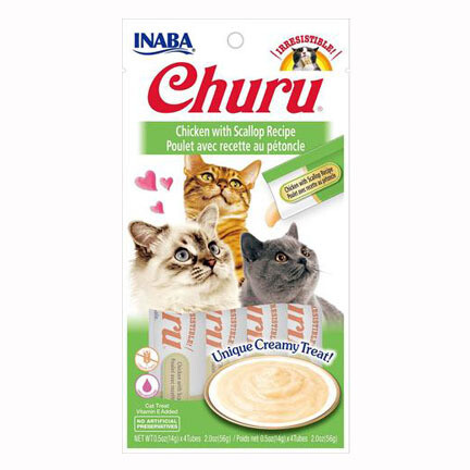 Inaba Churu Purees Chicken/Scallop