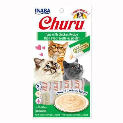 Inaba Churu Purees Tuna/Chicken