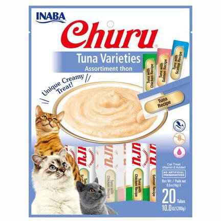 Inaba Churu Purees Tuna Variety 20pc