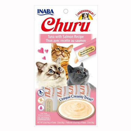 Inaba Churu Purees Tuna/Salmon