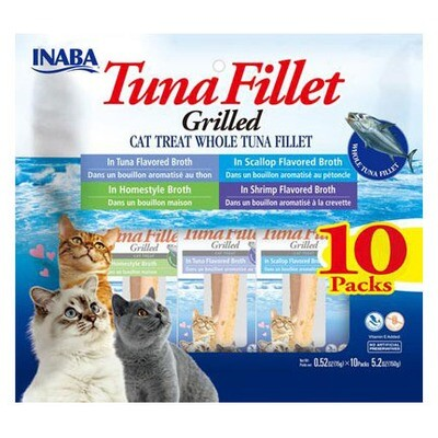 Inaba Fillets Tuna Multi Pack 10pc