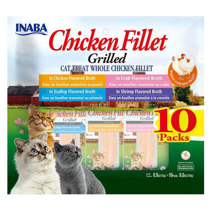 Inaba Fillets Chicken Multi Pack 10pc
