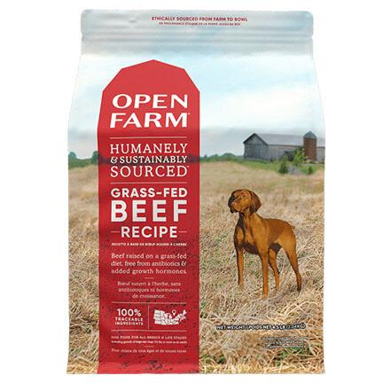 Open Farm Dog Beef 24#