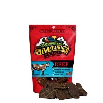 Wild Meadow Dog Bites Beef