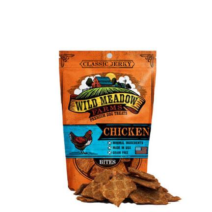 Wild Meadow Dog Bites Chicken