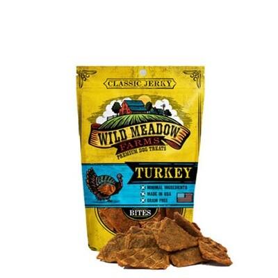 Wild Meadow Dog Bites Turkey
