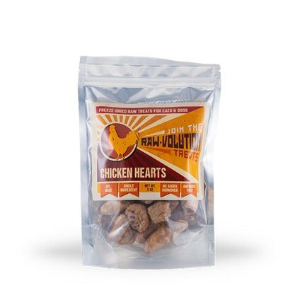 Corrinas FD Chicken Hearts 2oz