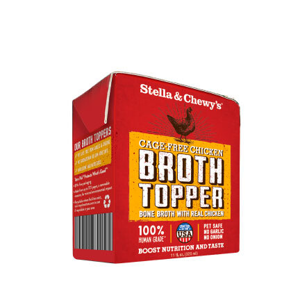 Stella Dog Chicken Broth Topper 11oz