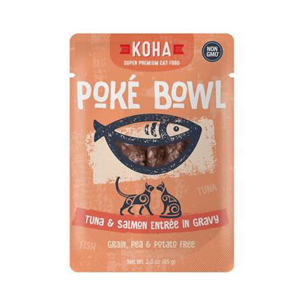 Koha Cat Poke Tuna Salmon 3oz