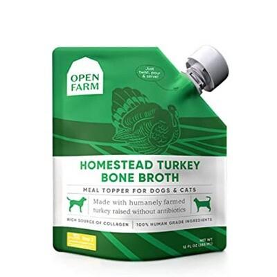 Open Farm Bone Broth Turkey 12oz