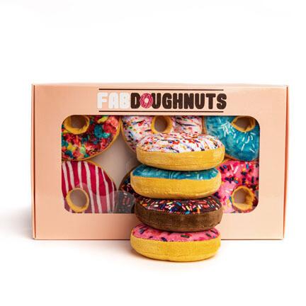 FabDog Box of Donuts 6ct