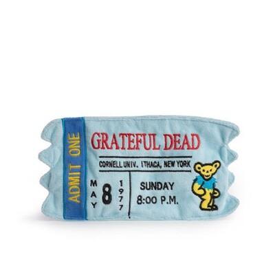 FabDog Grateful Dead Ticket Toy