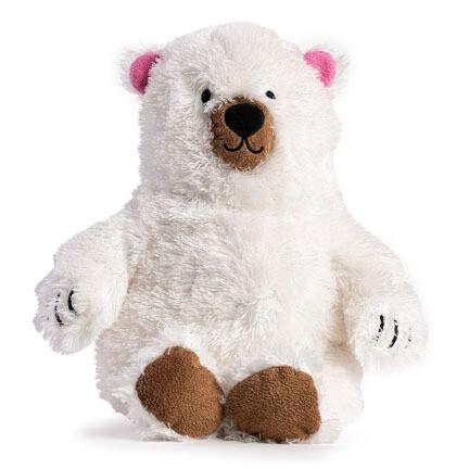 FabDog Fluffie Plush Polar Bear L