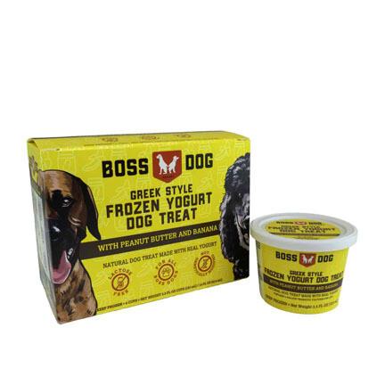 BossDog Frozen Yogurt PB Banana 4pk