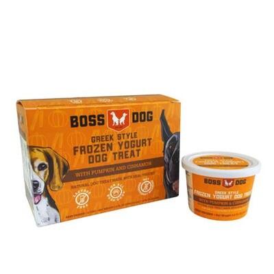 BossDog Frozen Yogurt Pumpkin 4pk