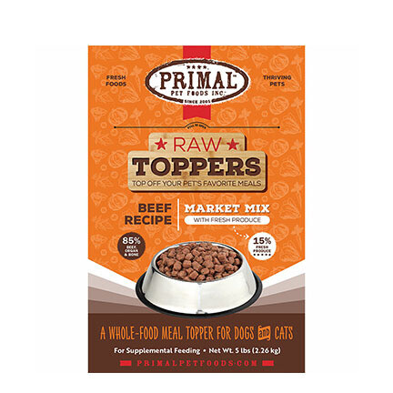 Primal FRZ Market Mix Beef 5#