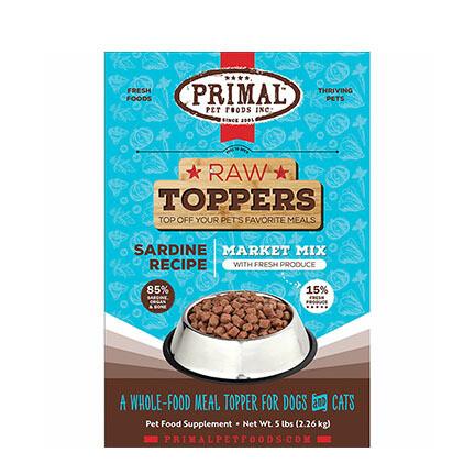 Primal FRZ Market Mix Sardine 5#