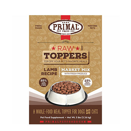 Primal FRZ Market Mix Lamb 5#