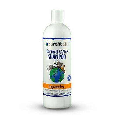 EarthBath Dog Oatmeal Aloe Shampoo