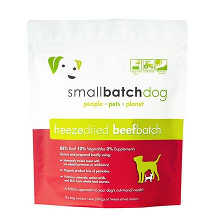 Small Batch FD Dog Beef 14oz
