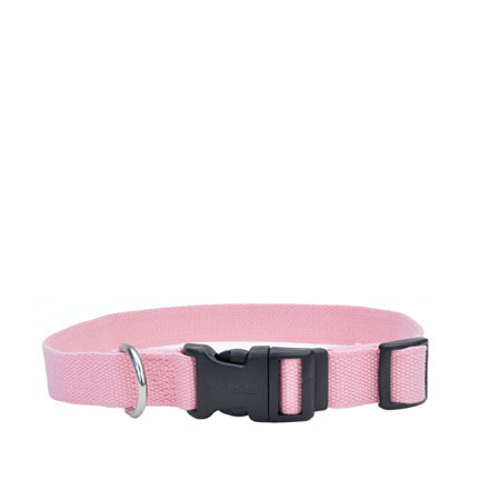 Coastal Soy Dog Collar S/M Rose