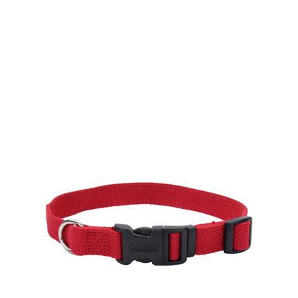 Coastal Soy Dog Collar XS Cranberry