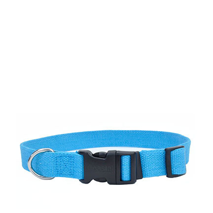 Coastal Soy Dog Collar S/M Slate