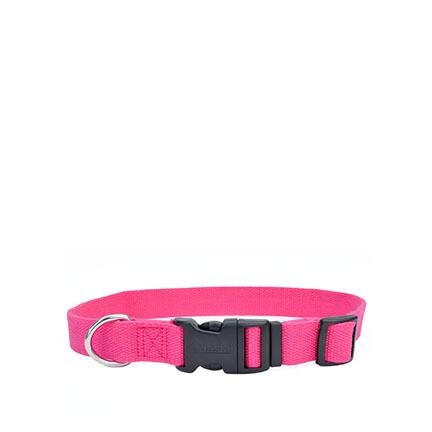 Coastal Soy Dog Collar XS Fuchsia