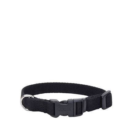 Coastal Soy Dog Collar XS Onyx