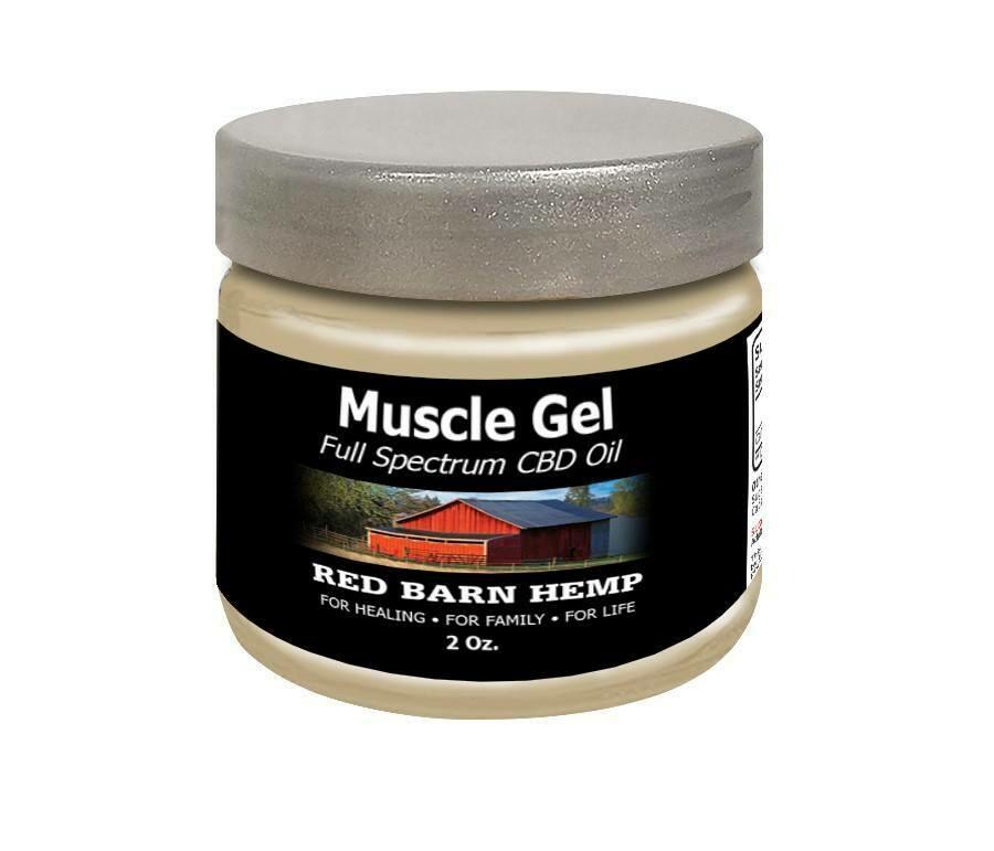 Muscle CBD Gel 4oz 400mg