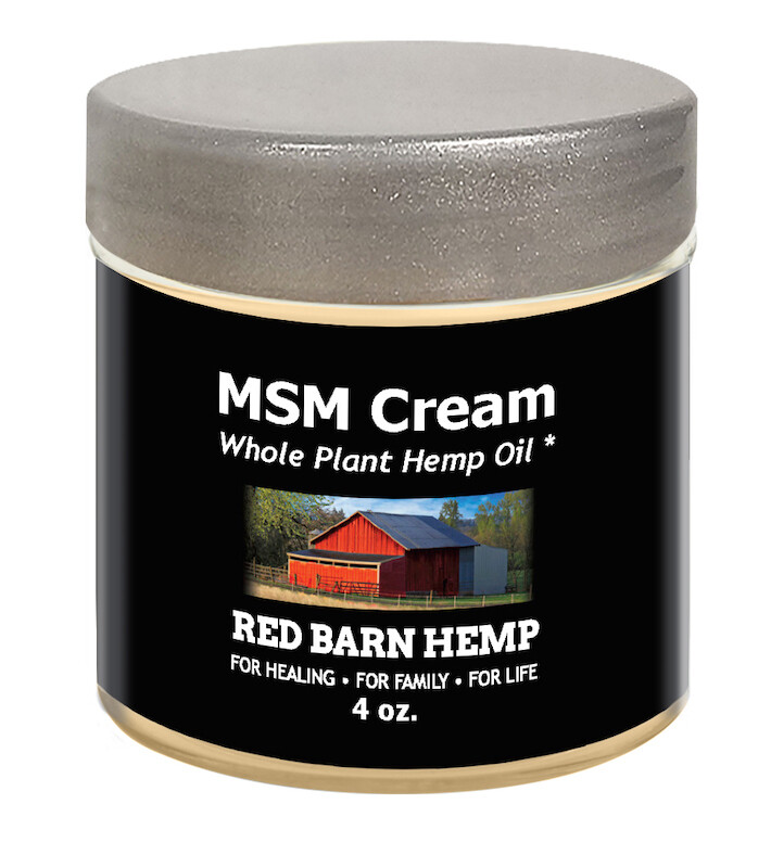 MSM CBD Cream 200mg - 2oz