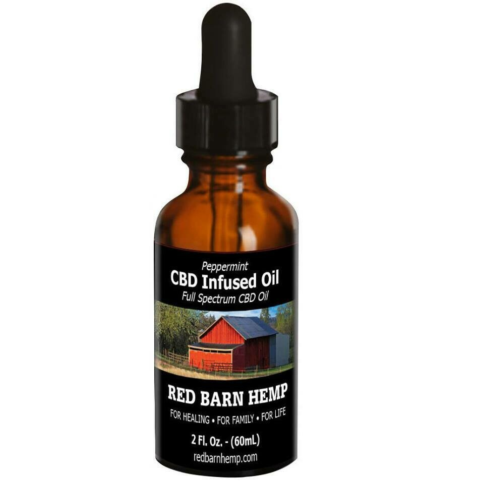 CBD Infused Oil Peppermint 1200mg