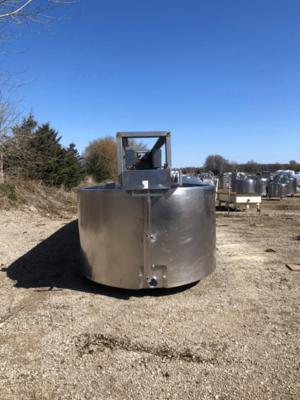 3,000 Gallon Cheese Vat - #3218