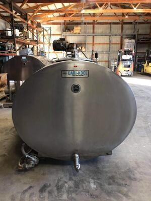 600 Gallon Dari-Kool - #3196