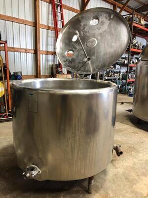 200 Gallon Batch Pasteurizer - #0176