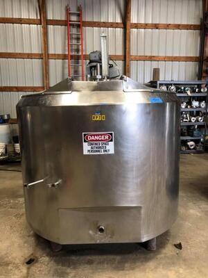 500 Gallon Processor - #0177
