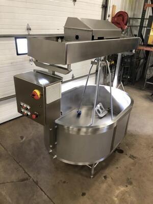 Sample 150 Gallon Cheese Vat