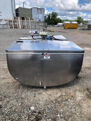 500 Gallon Mojonnier - #1369