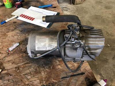 1/3 HP Motor  - #2993